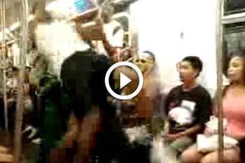 Ils ont pris le métro pour un gymnase