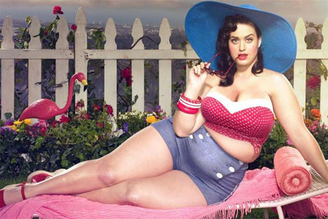 Katy Perry avec 50 kgs de plus