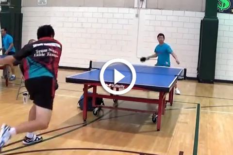 coup de maître au ping pong