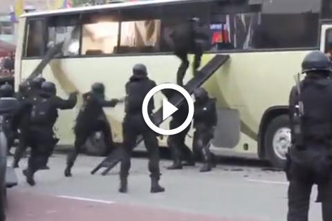 démonstration armée malaisienne