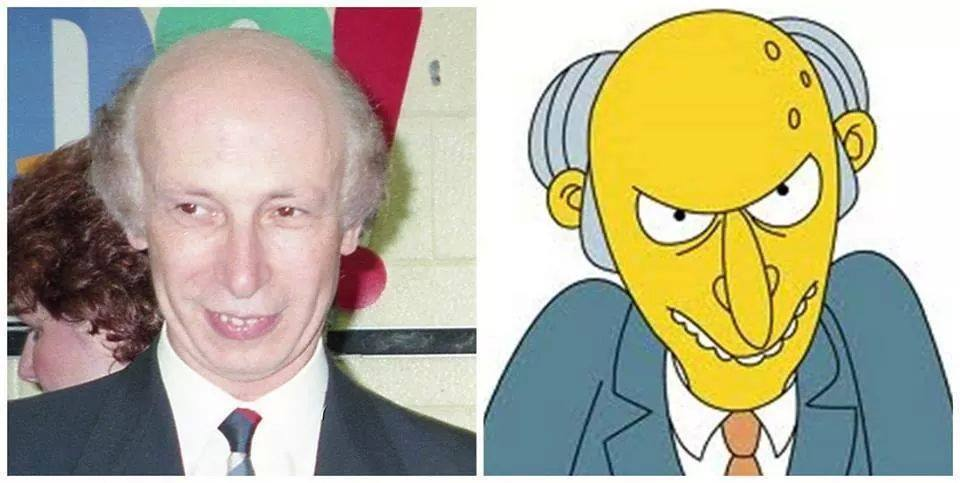 Charles Montgomery Burns dans Les Simpsons