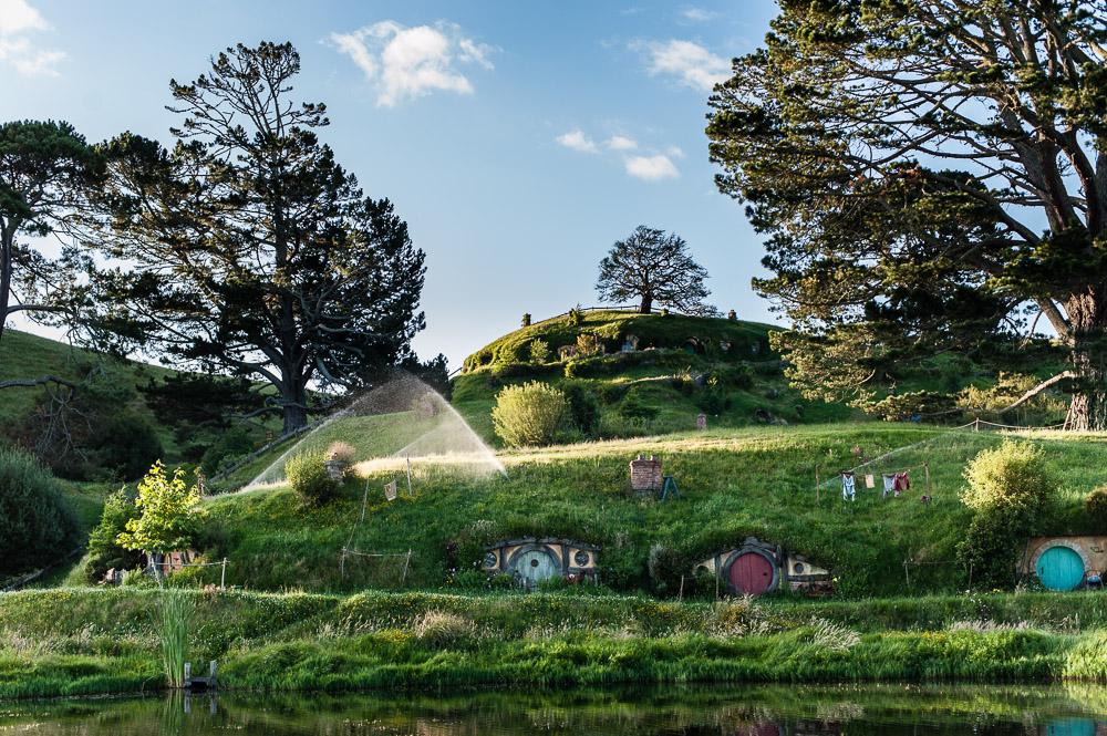 Le village des Hobbits dans Le Seigneur des Anneaux 5