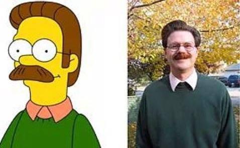 Ned Flanders dans Les Simpsons