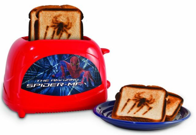 grille pain spiderman
