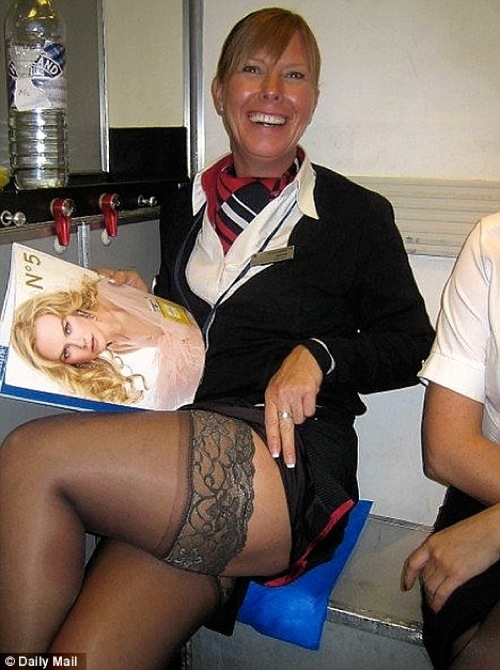 hôtesse de l'air sexy