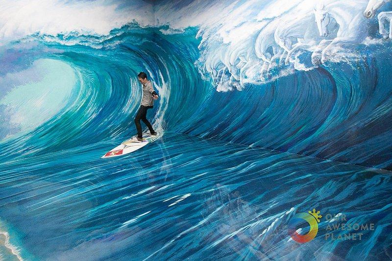 il est devenu surfeur professionnel
