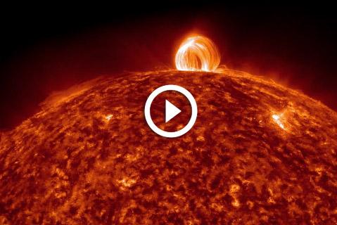 time lapse du soleil par la NASA