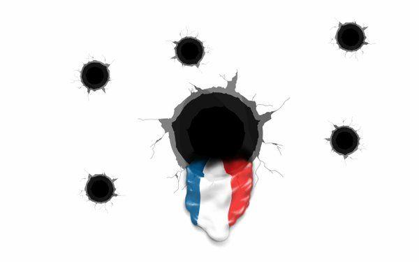 dessin hommage aux victimes attentat 13 nov 2015 paris - 09